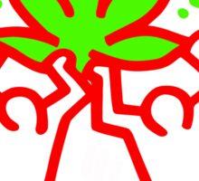 keith, haring, keith haring, graffiti, trending, symbol, pop art, funny, logo, people, family, motif. Sticker