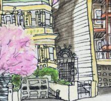 San Francisco Houses #13 Sticker