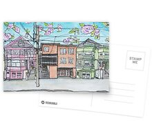 San Francisco Houses #14 Postcards
