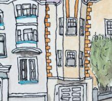 San Francisco Houses #15 Sticker