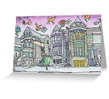 San Francisco Houses #16 Greeting Card
