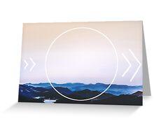 Mountains Beyond Greeting Card