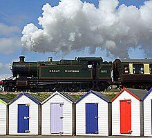 Great Western 4277 by Beverley Barrett