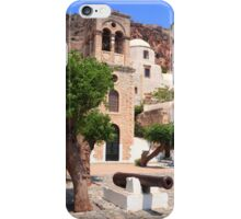 Monemvasia plaza iPhone Case/Skin
