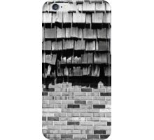 Strip Mall Textures 2 BW iPhone Case/Skin