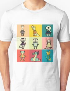 animal party Unisex T-Shirt