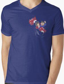 Pocket Objection! Mens V-Neck T-Shirt