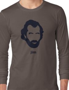 Jim Henson (Hirsute History) Long Sleeve T-Shirt