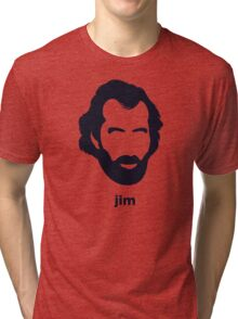Jim Henson (Hirsute History) Tri-blend T-Shirt