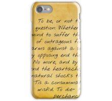 Classics Series: Hamlet iPhone Case/Skin