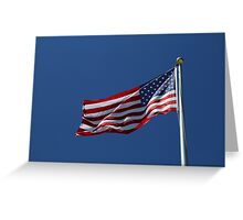 Stars and Stripes 10 Greeting Card