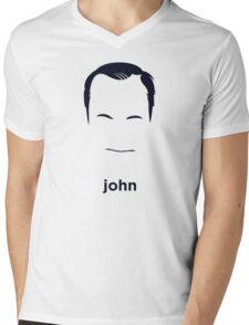 John Waters (Hirsute History) Mens V-Neck T-Shirt