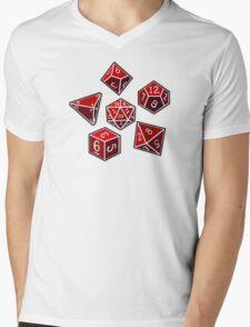 Dice of Power Mens V-Neck T-Shirt