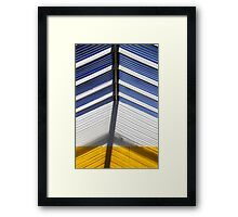 Skylight Abstract 10 Framed Print