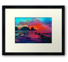 Colours of the Night 2 Framed Print