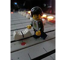 DJ Minifig Photographic Print