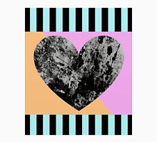 Lunar Heart - Abstract, Geometric, Pop Art Heart Unisex T-Shirt