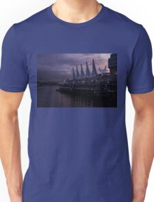 Purple Dawn in Vancouver  Unisex T-Shirt