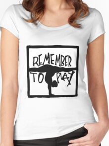 Play Women's Fitted Scoop T-Shirt