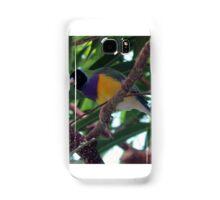 Multi-Colored Finch Samsung Galaxy Case/Skin