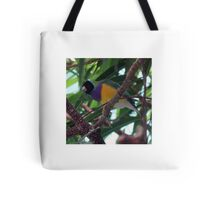 Multi-Colored Finch Tote Bag