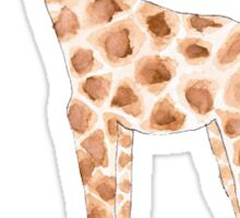 Watercolor Giraffe Sticker