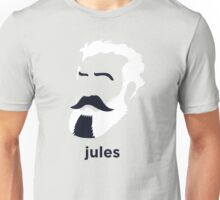 Jules Verne (Hirsute History) Unisex T-Shirt