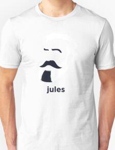 Jules Verne (Hirsute History) T-Shirt