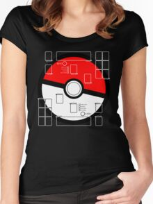 Ready to Battle - PKMN edition - DARK PRODUCTS Women's Fitted Scoop T-Shirt