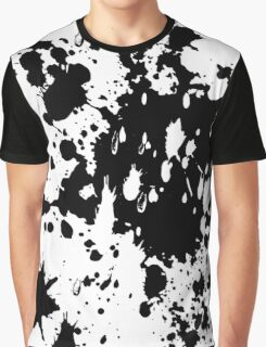 Black Splash Graphic T-Shirt