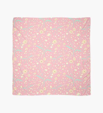 Wild Daisies - Pink Scarf