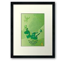 Zelda 30th Anniversary Framed Print