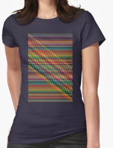Ovrlap Womens Fitted T-Shirt