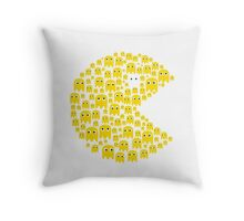 Pacman Throw Pillow