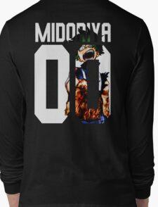midoriya izuku 00 Long Sleeve T-Shirt
