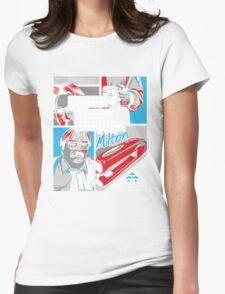 Grand Theft Stapler Womens Fitted T-Shirt