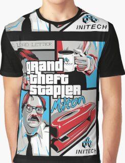 Grand Theft Stapler Graphic T-Shirt