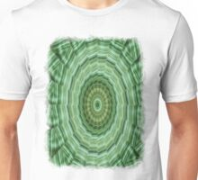 Green Stripes Kaleidoscope 11 Unisex T-Shirt