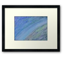 Universe Of My Own - Acrylic Painting  Framed Print