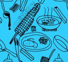 comidas tipicas- El Salvador Sticker