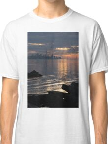 Good Morning, Toronto - the Skyline From Across Humber Bay Classic T-Shirt