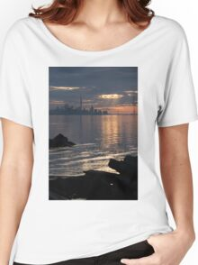 Good Morning, Toronto - the Skyline From Across Humber Bay Women's Relaxed Fit T-Shirt