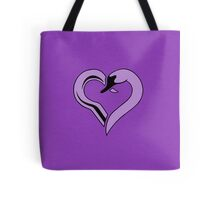 Captain Swan heart - purple Tote Bag