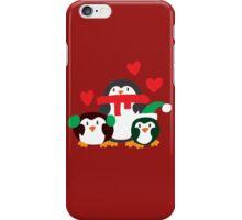 Winter Penguins iPhone Case/Skin