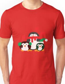 Winter Penguins Unisex T-Shirt