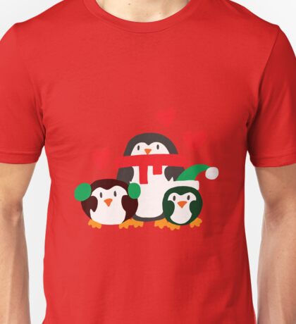 Winter Penguins Unisex T-Shirt