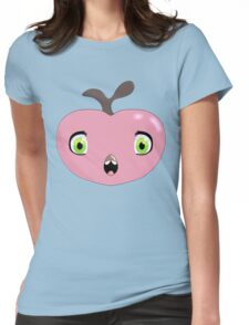 Pink Fruit Bird Thing Womens Fitted T-Shirt