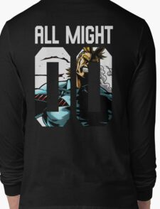 all might 00 Long Sleeve T-Shirt