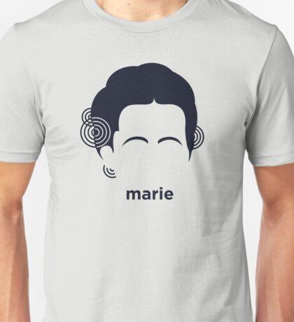 Marie Curie (Hirsute History) Unisex T-Shirt