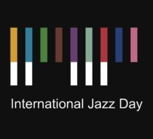 International Jazz Day One Piece - Short Sleeve